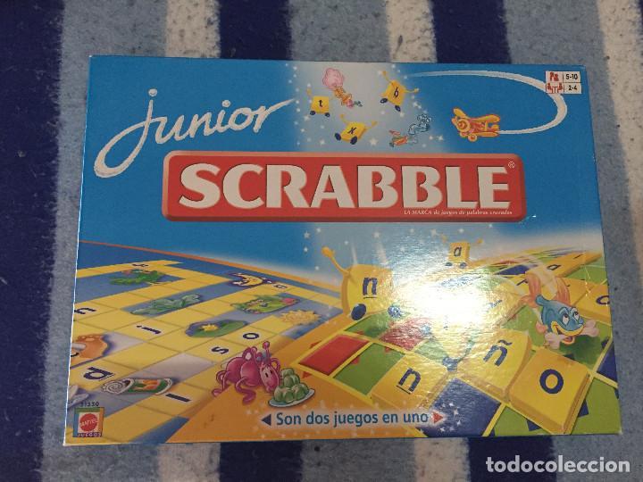 Junior Scrabble Kids 2 En 1 Juego De Mesa Educa Comprar Juegos De
