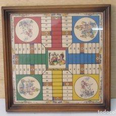 Juegos de mesa: TABLERO DE PARCHÍS FALLERO, DE MADERA. Lote 123759311