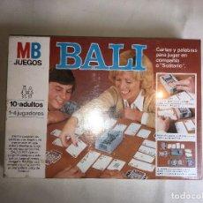 Juegos de mesa: JUEGO BALI DE MB - NUEVO. Lote 123814431
