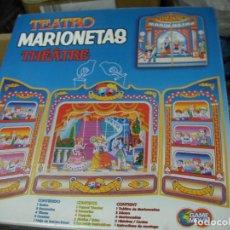 Juegos de mesa: TEATRO DE MARIONETAS EN SU CAJA. Lote 124303647
