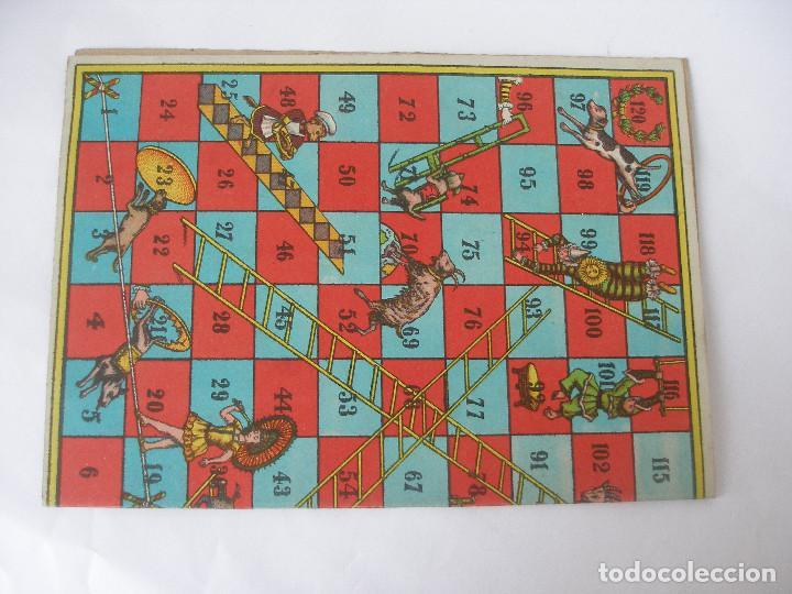 Juegos de mesa: Antiguo tablero cartón juegos reunidos Borrás - Foto 2 - 124458779