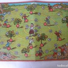 Juegos de mesa: ANTIGUO TABLERO CARTÓN LA GALLINA CIEGA JUEGOS REUNIDOS BORRÁS. Lote 124458955