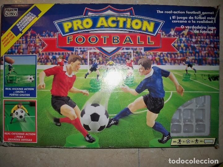 Juego Futbol Football Pro Action Parker Comprar Juegos De Mesa