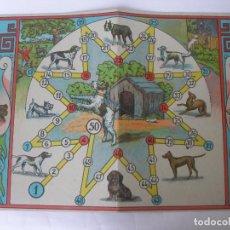 Juegos de mesa: ANTIGUO TABLERO CARTÓN EL GUARDIÁN JUEGOS REUNIDOS BORRÁS. Lote 124459491