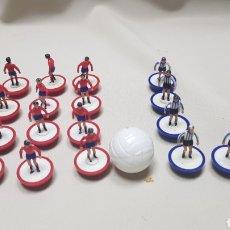 Juegos de mesa: LOTE DE 17 JUGADORES CON BALON DE SUBBUTEO. Lote 124493455