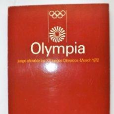 Juegos de mesa: EDUCA MUNICH 1972 JUEGO OLYMPIA. Lote 124514091