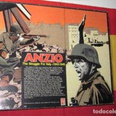 Juegos de mesa: ANZIO WARGAME ITALIA II GUERRA MUNDIAL IIGM II WG AVALON HILL 1980 ESTRATEGIA. Lote 124620967