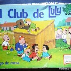 Juegos de mesa: JUEGO DE MESA EL CLUB DE LULU NAC JUNIOR 1984. Lote 124650495