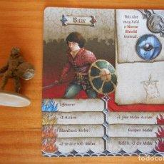 Jeux de table: ZOMBICIDE GREEN HORDE - BILLY - KICKSTARTER EXCLUSIVE - FIGURA + TARJETA - NUEVO (CD). Lote 133797365