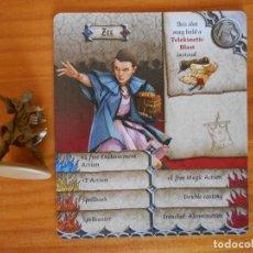 Jeux de table: ZOMBICIDE GREEN HORDE - ZEE - KICKSTARTER EXCLUSIVE - FIGURA + TARJETA - NUEVO (CD). Lote 133798201
