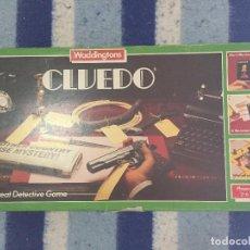 Juegos de mesa: ORIGINAL CLUEDO THE GREAT DETECTIVE WADDINGTONS GAME JUEGO DE MESA KREATEN. Lote 124984695