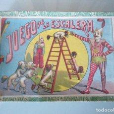 Juegos de mesa: ANTIGUO JUEGO DE LA ESCALERA DE ENRIQUE BORRAS Y CIA. Lote 125062911