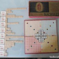 Juegos de mesa: ANTIGUO JUEGO BACHILLER DE JUEGOS CRONE. Lote 125063523