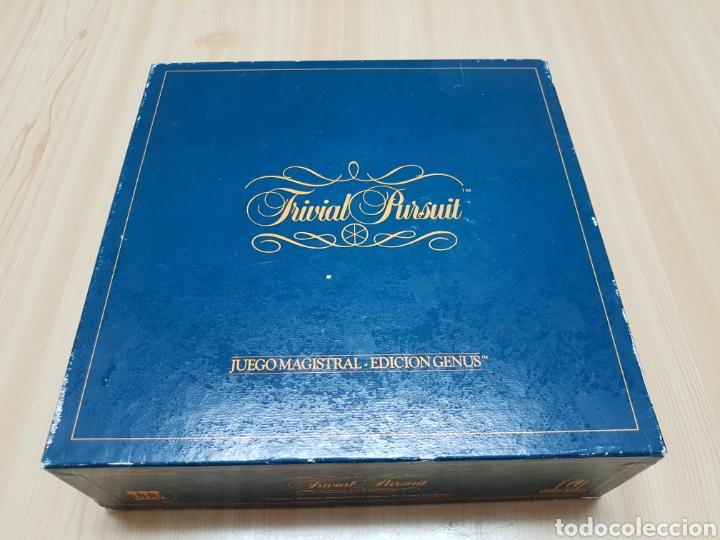 TRIVIAL PURSUIT - JUEGO MAGISTRAL - EDICION GENUS - 1984 - DISET (Juguetes - Juegos - Juegos de Mesa)