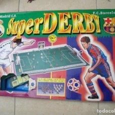 Juegos de mesa: FUTBOL SUPERDERBY MADRID BARCELONA RIMA INOVAC SUPER DERBY MADRID BARÇA. Lote 125165063