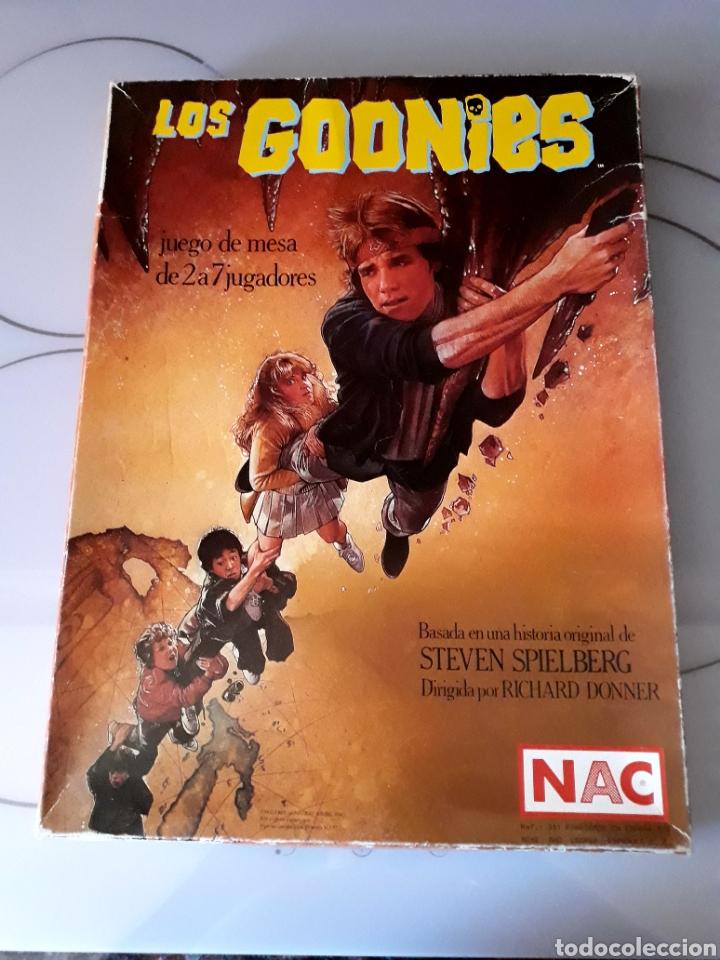 JUEGO DE MESA LOS GOONIES DE NAC (AÑO 1985). COMPLETO. (Juguetes - Juegos - Juegos de Mesa)