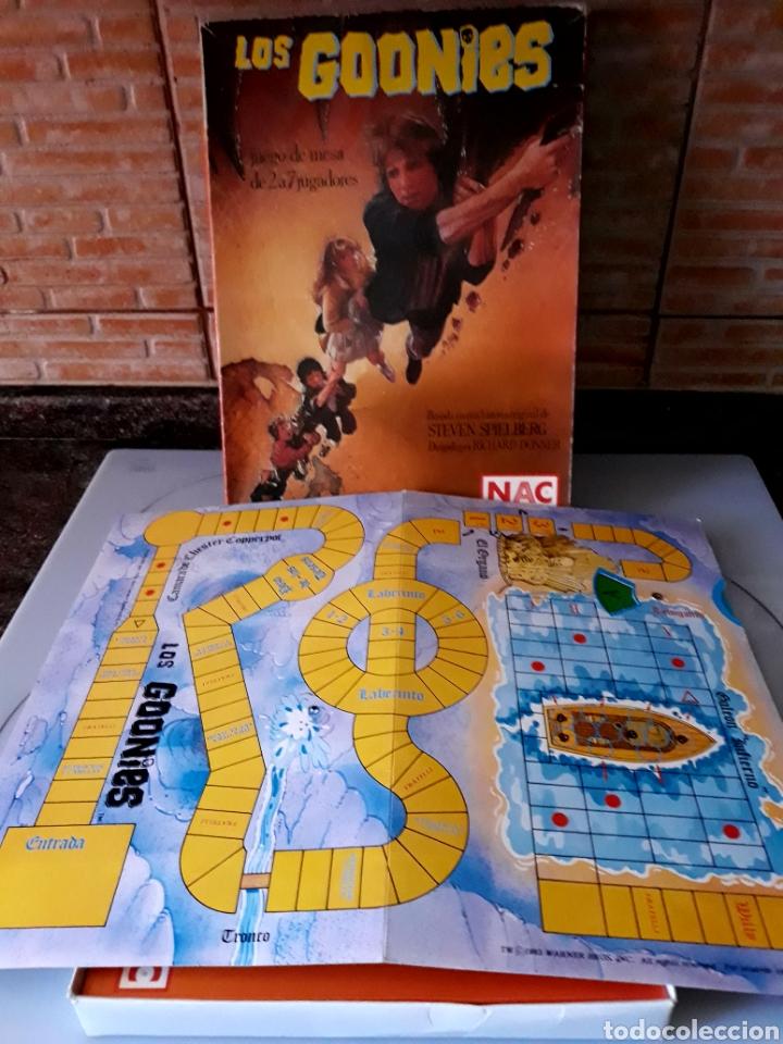 Juegos de mesa: Juego de mesa Los Goonies de Nac (año 1985). Completo. - Foto 3 - 125217854
