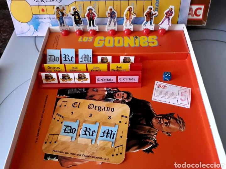 Juegos de mesa: Juego de mesa Los Goonies de Nac (año 1985). Completo. - Foto 5 - 125217854