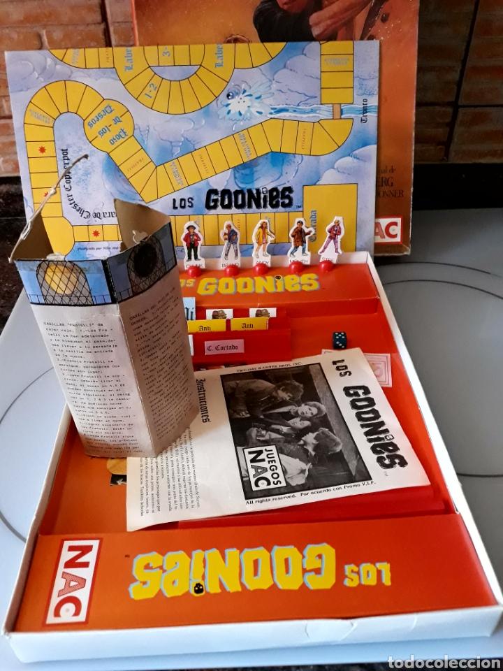 Juegos de mesa: Juego de mesa Los Goonies de Nac (año 1985). Completo. - Foto 7 - 125217854