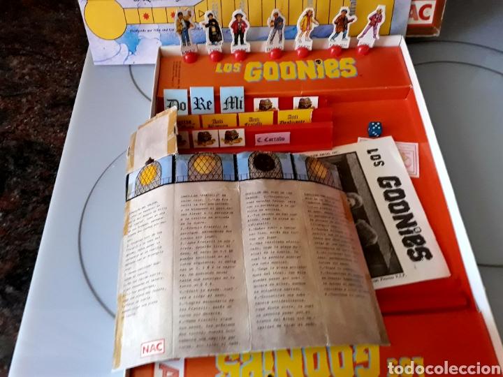 Juegos de mesa: Juego de mesa Los Goonies de Nac (año 1985). Completo. - Foto 8 - 125217854