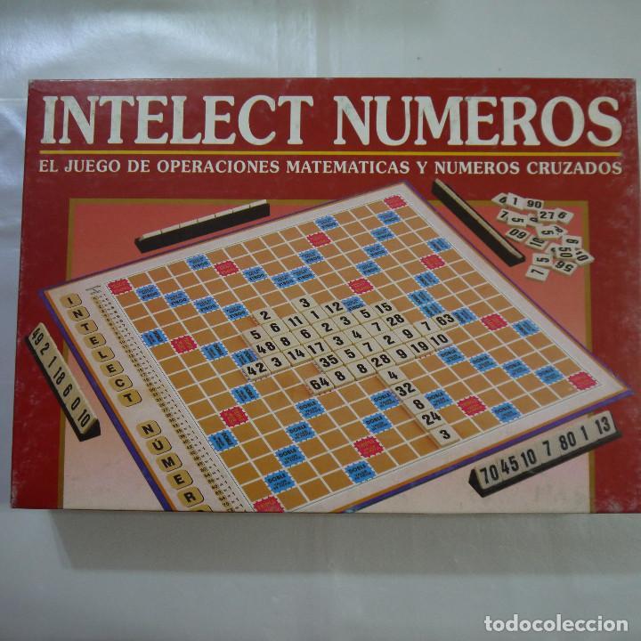 Intelect Numeros Falomir 1998 Comprar Juegos De Mesa Antiguos