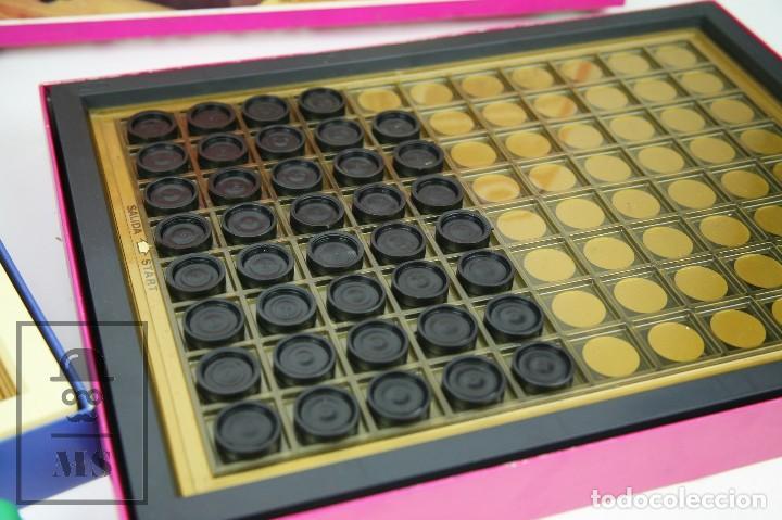 Juegos de mesa: Pareja de Juegos de Mesa - Blokeo / Marelle - Geyper, Años 70 - Foto 4 - 125409483