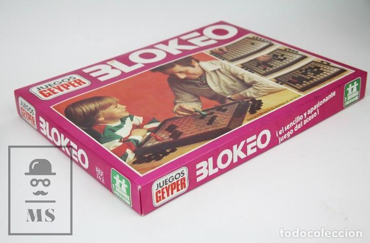 Juegos de mesa: Pareja de Juegos de Mesa - Blokeo / Marelle - Geyper, Años 70 - Foto 6 - 125409483