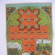 Juegos de mesa: ANTIGUO TABLERO JUEGO ASALTO CARTÓN JUEGOS REUNIDOS BORRÁS. Lote 125447267