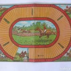 Juegos de mesa: ANTIGUO TABLERO JUEGO HIPÓDROMO CARTÓN JUEGOS REUNIDOS BORRÁS. Lote 125447411