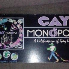 Juegos de mesa: GAY MONOPOLY A CELEBRACIÓN OF GAY LIVE 1983 THE PARKER SISTERS. Lote 125839983