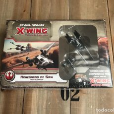 Juegos de mesa: RENEGADOS DE SAW - EXPANSIÓN STAR WARS X-WING - FANTASY FLIGHT GAMES - EL JUEGO DE MINIATURAS. Lote 126058223