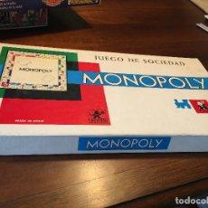 Juegos de mesa: MONOPOLY BORRAS BARCELONA (J-0). Lote 126104815