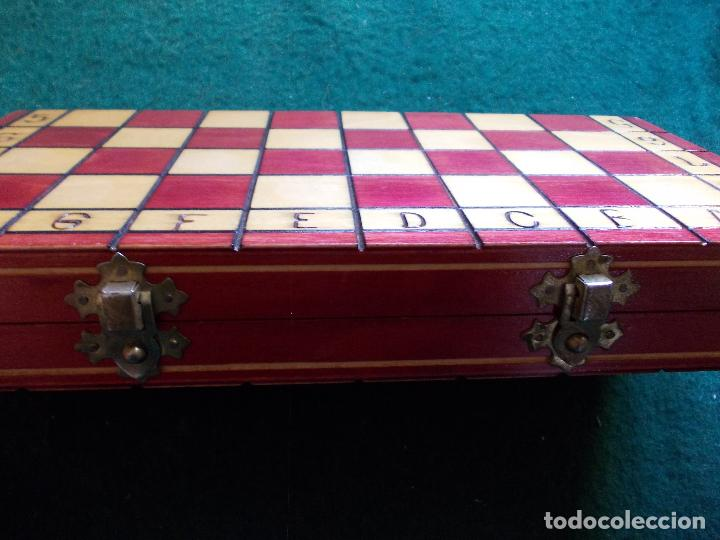 Juegos de mesa: Ajedrez con tablero-caja 29X29 - Foto 2 - 126220007