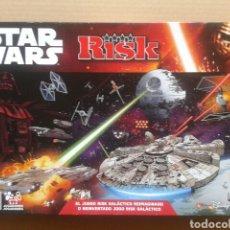 Juegos de mesa: JUEGO DE MESA STAR WARS RISK (HASBRO DISNEY, 2014). FABRICADO EN IRLANDA. COMPLETO.. Lote 126267975
