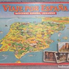 Juegos de mesa: VIAJE POR ESPAÑA DESCUBRE EL PAIS JUGANDO EDUCA EDUCATIVO KREATEN JUEGO DE MESA. Lote 126399115