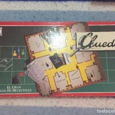 Juegos de mesa: CLUEDO EL GRAN JUEGO DE DETECTIVES BORRAS JUEGO DE MESA KREATEN. Lote 126399419