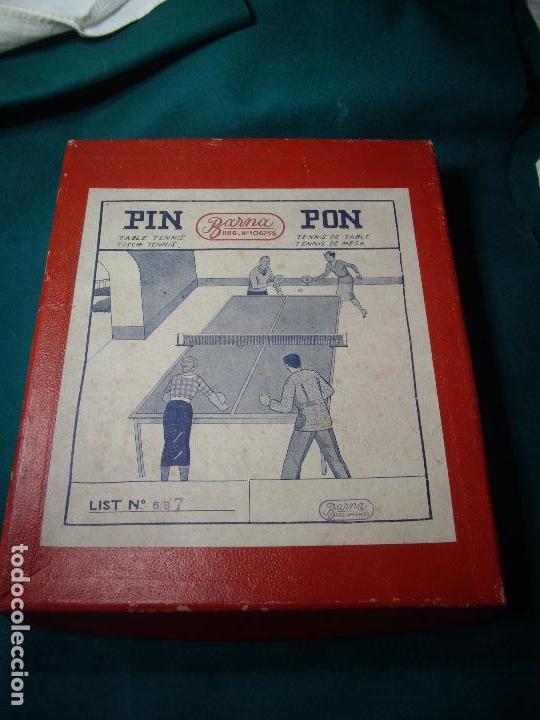 Juegos de mesa: JUEGO DE PIN-PON - PING-PONG - MARCA BARNA - Foto 2 - 126558519