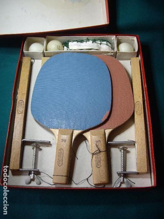 Juegos de mesa: JUEGO DE PIN-PON - PING-PONG - MARCA BARNA - Foto 4 - 126558519