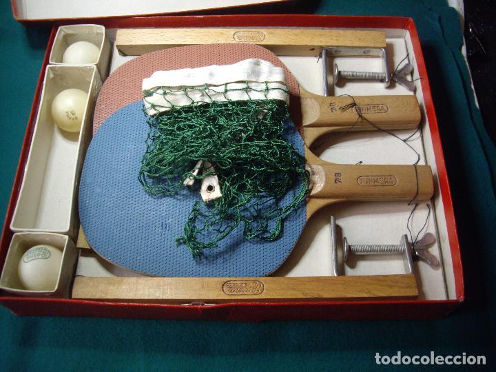 Juegos de mesa: JUEGO DE PIN-PON - PING-PONG - MARCA BARNA - Foto 9 - 126558519