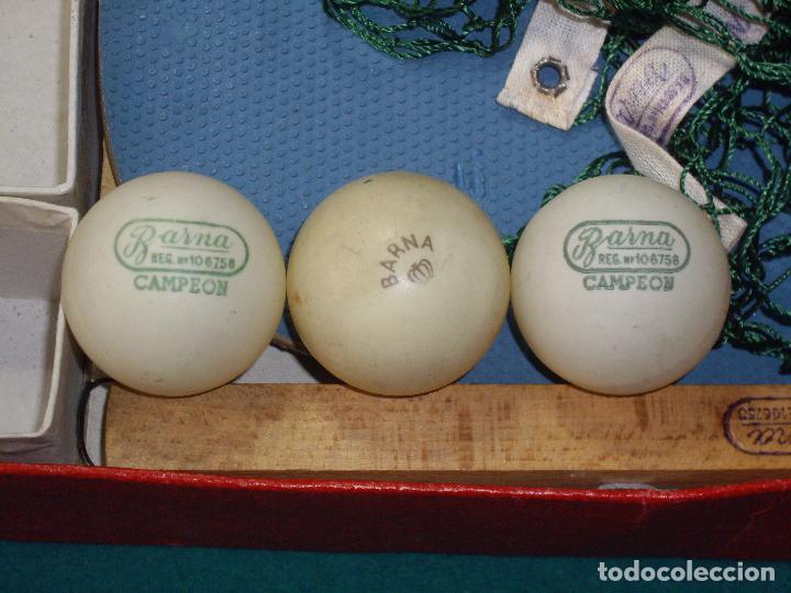 Juegos de mesa: JUEGO DE PIN-PON - PING-PONG - MARCA BARNA - Foto 10 - 126558519