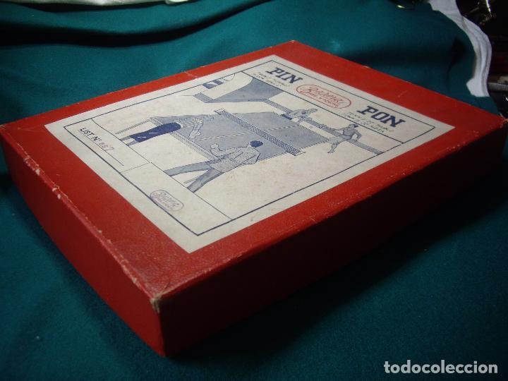 Juegos de mesa: JUEGO DE PIN-PON - PING-PONG - MARCA BARNA - Foto 12 - 126558519