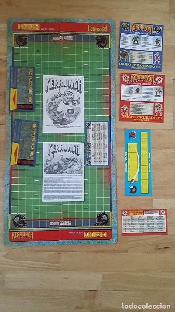 BLOOD BOWL KERRUNCH JUEGO MESA GAMES WORKSHOP 1991 (Juguetes - Juegos - Juegos de Mesa)