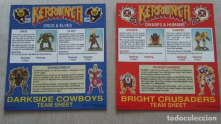 Juegos de mesa: Blood Bowl Kerrunch juego mesa Games Workshop 1991 - Foto 2 - 126728399