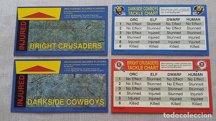 Juegos de mesa: Blood Bowl Kerrunch juego mesa Games Workshop 1991 - Foto 3 - 126728399