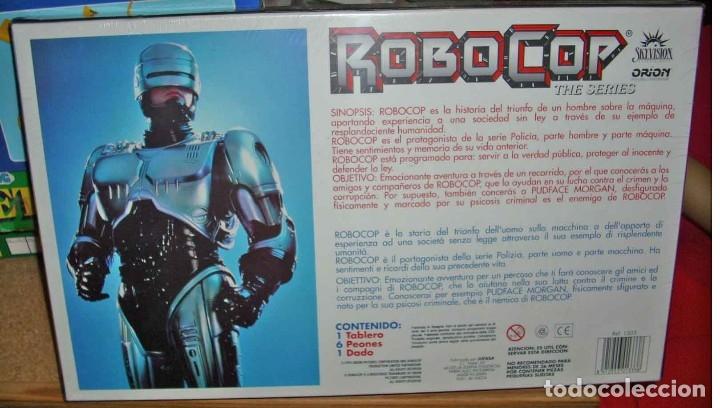 Juegos de mesa: ROBOCOP, THE SERIES, 1995, JUEGO DE MESA, UN DADO,UN TABLERO, 6 PEONES, PRECINTADO DE ORIGEN IMPECAB - Foto 2 - 131361187