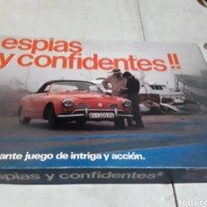 Juegos de mesa: JUEGO ESPÍAS Y CONFIDENTES MARCA BORRAS. Lote 127161075
