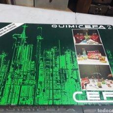 Juegos de mesa: JUEGO QUIMICEFA LABORATORIO 2 MÁS DE 50 EXPERIENCIAS QUÍMICAS. Lote 127163366