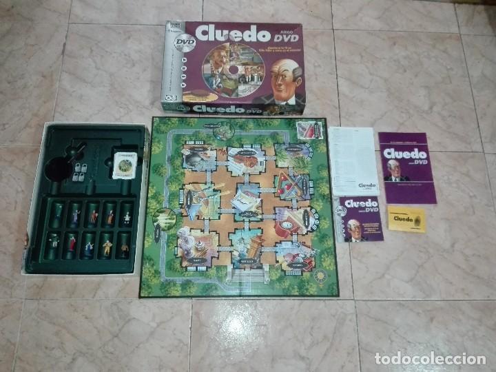 JUEGO CLUEDO CON DVD - JUEGO DE MISTERIO COMPLETO (Juguetes - Juegos - Juegos de Mesa)