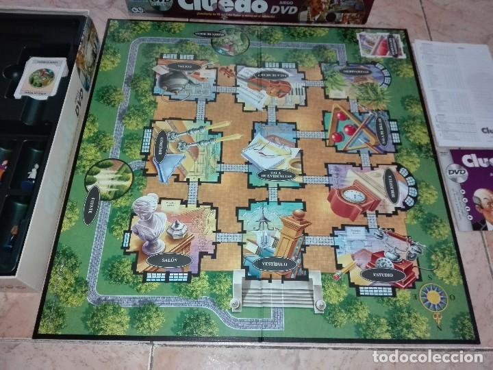 Juegos de mesa: JUEGO CLUEDO CON DVD - JUEGO DE MISTERIO completo - Foto 5 - 127273771