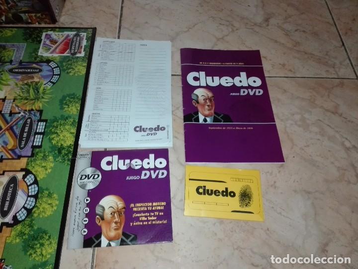 Juegos de mesa: JUEGO CLUEDO CON DVD - JUEGO DE MISTERIO completo - Foto 6 - 127273771